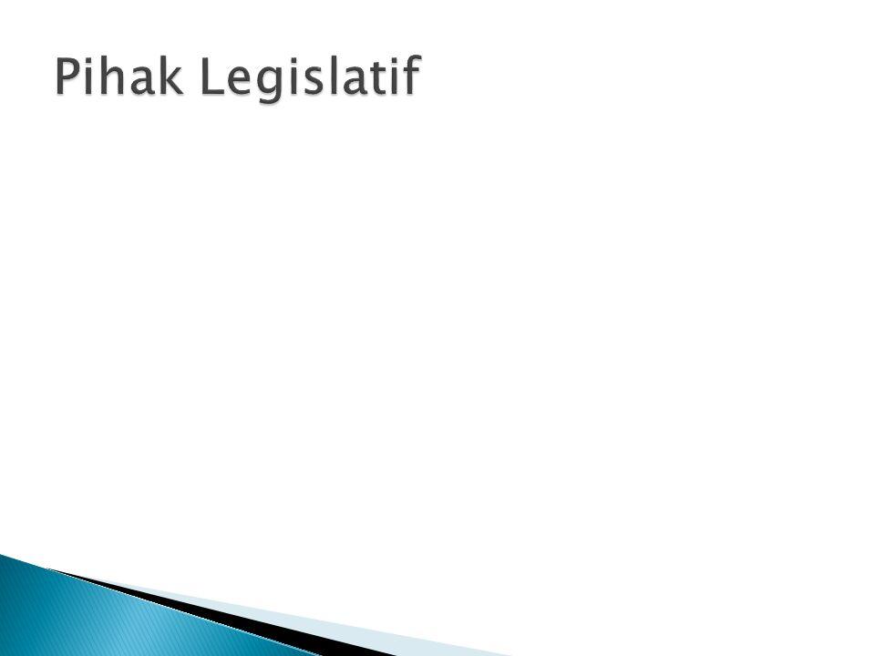 Pihak Legislatif