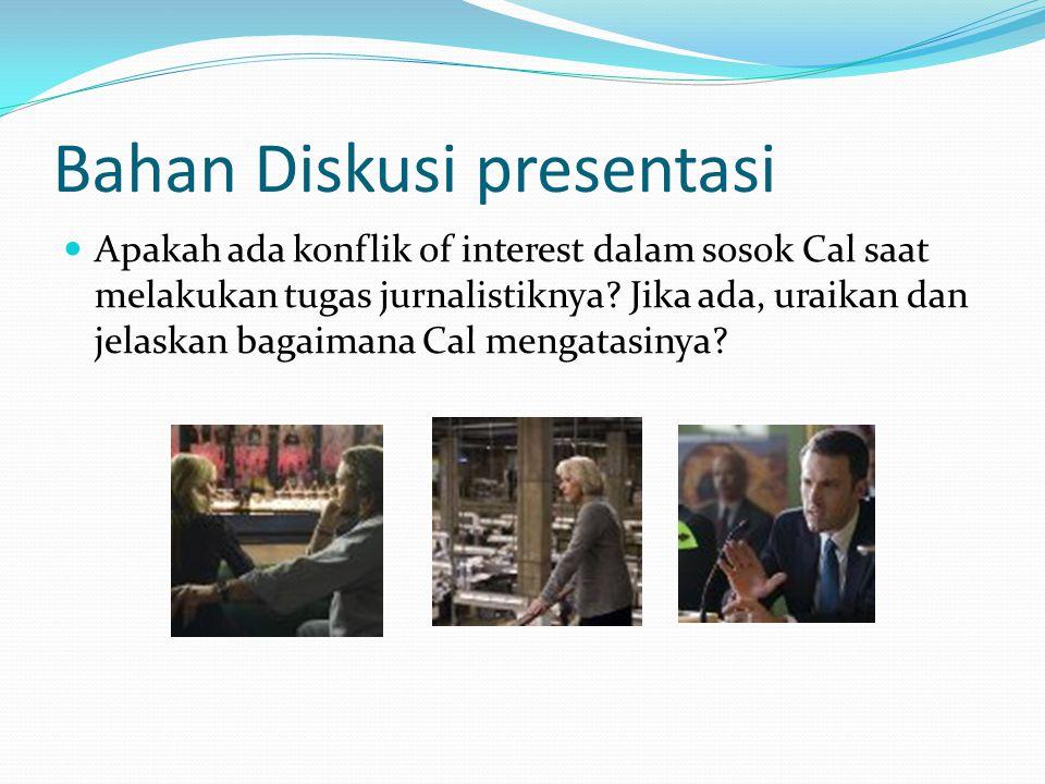 Bahan Diskusi presentasi