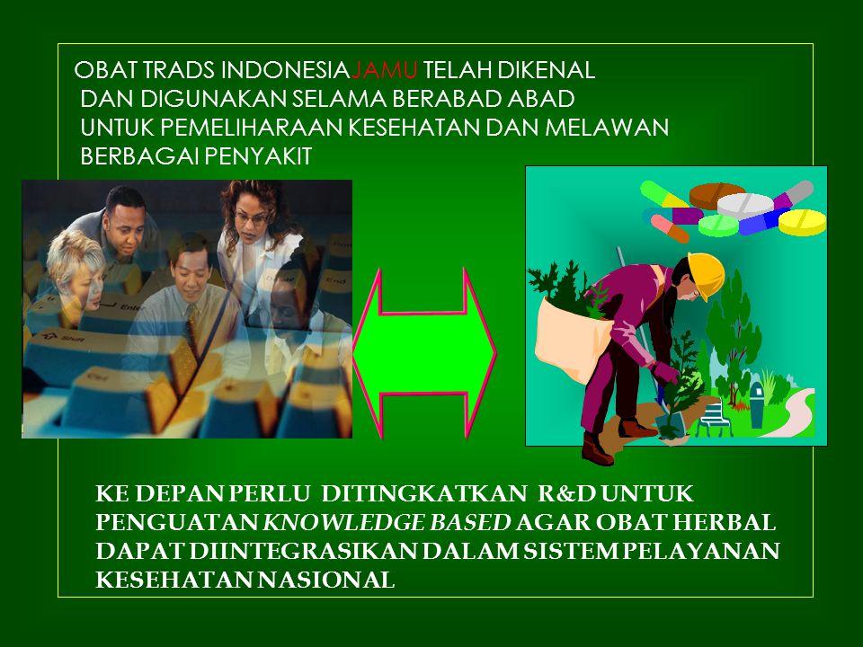 OBAT TRADS INDONESIAJAMU TELAH DIKENAL