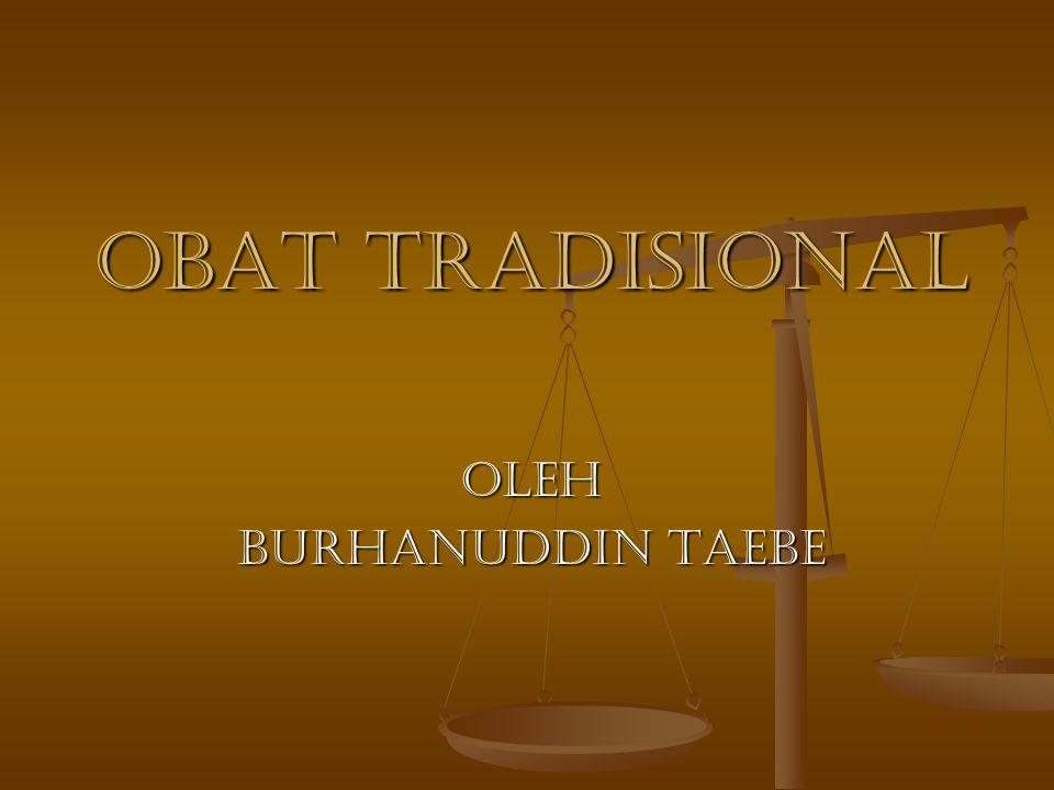 OLEH BURHANUDDIN TAEBE