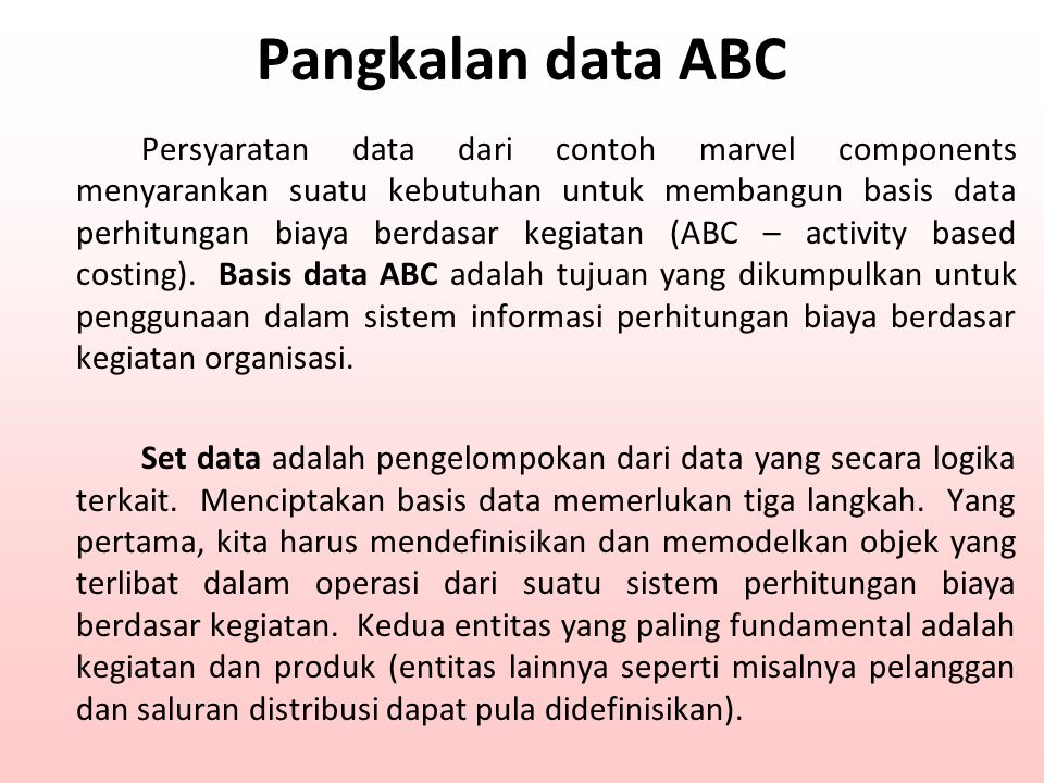 Pangkalan data ABC