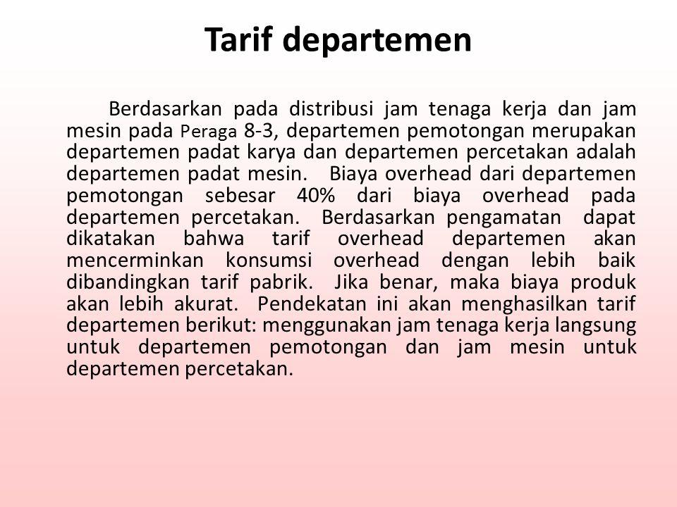 Tarif departemen