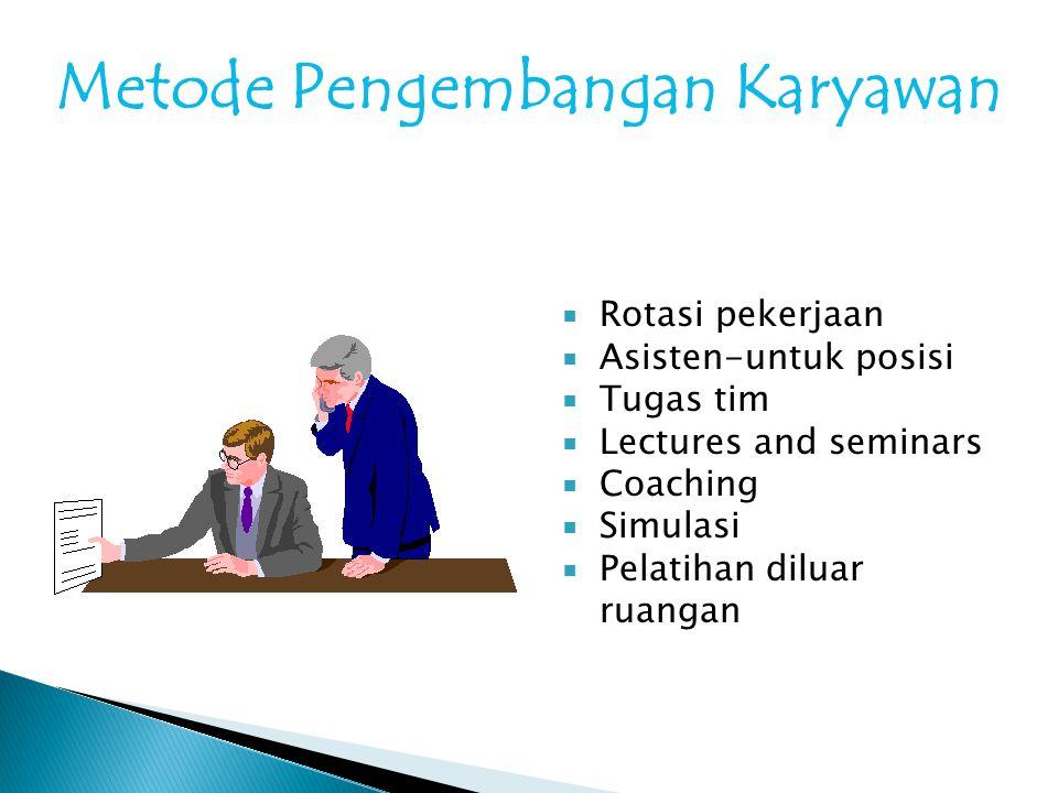 Metode Pengembangan Karyawan