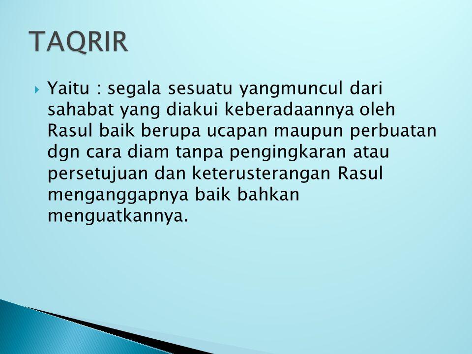 TAQRIR