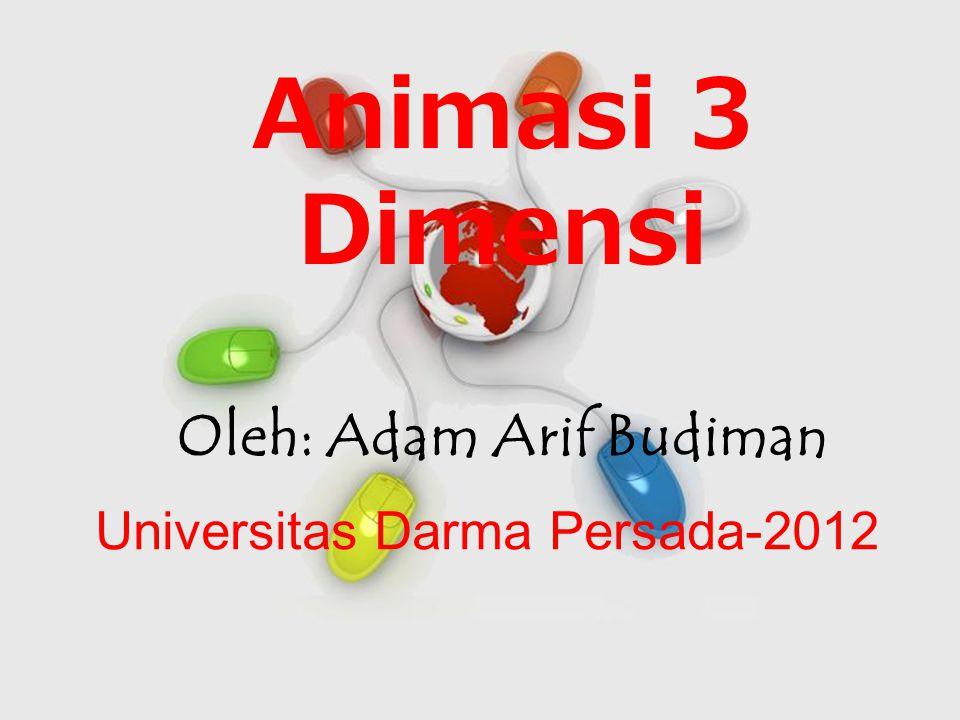 Oleh: Adam Arif Budiman