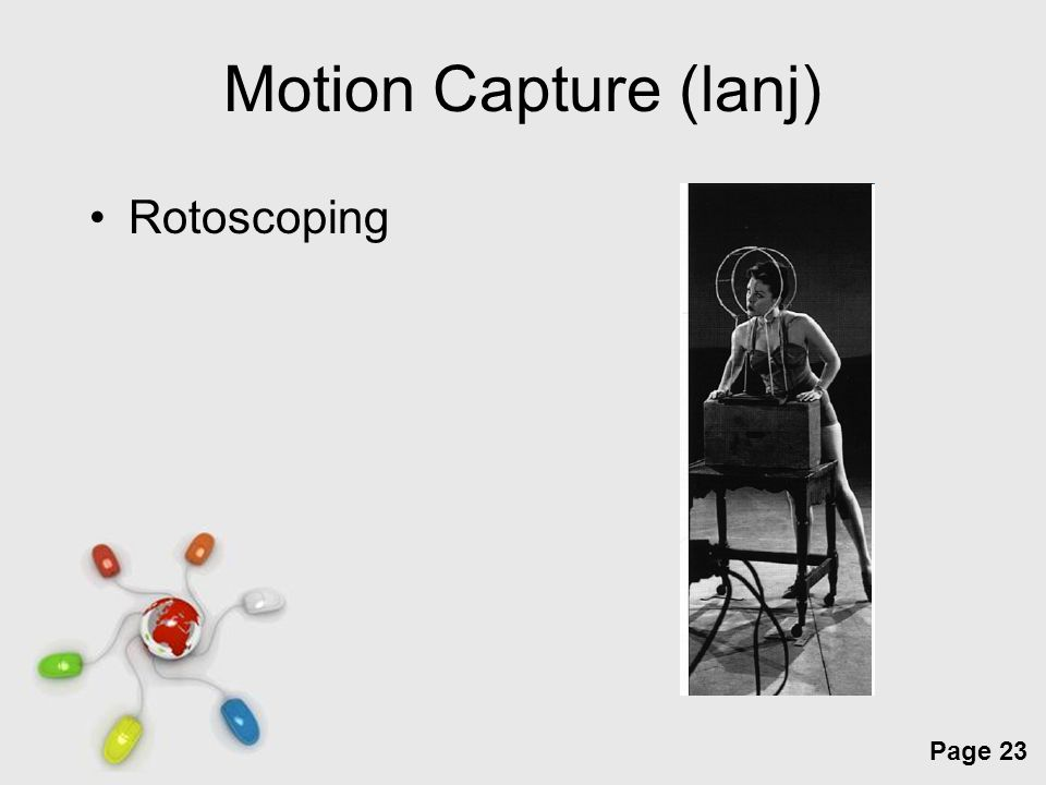 Motion Capture (lanj) Rotoscoping