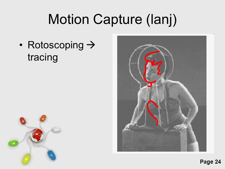 Motion Capture (lanj) Rotoscoping  tracing