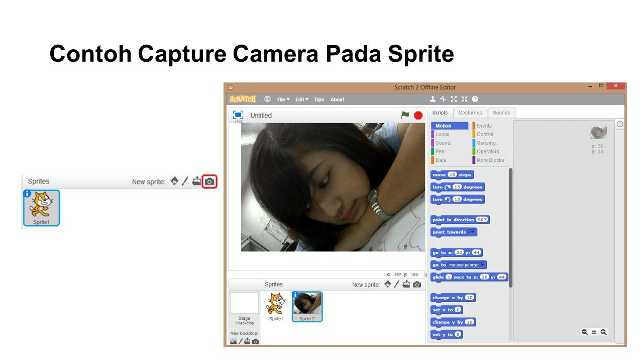 Contoh Capture Camera Pada Sprite