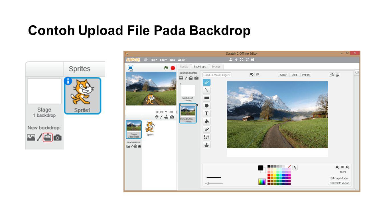 Contoh Upload File Pada Backdrop
