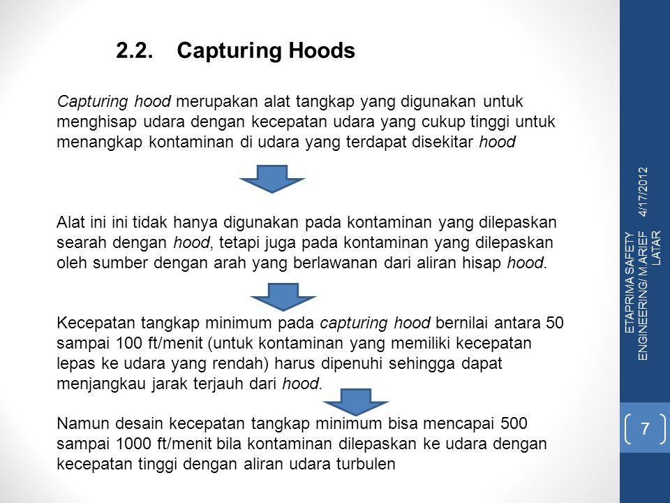 2.2. Capturing Hoods