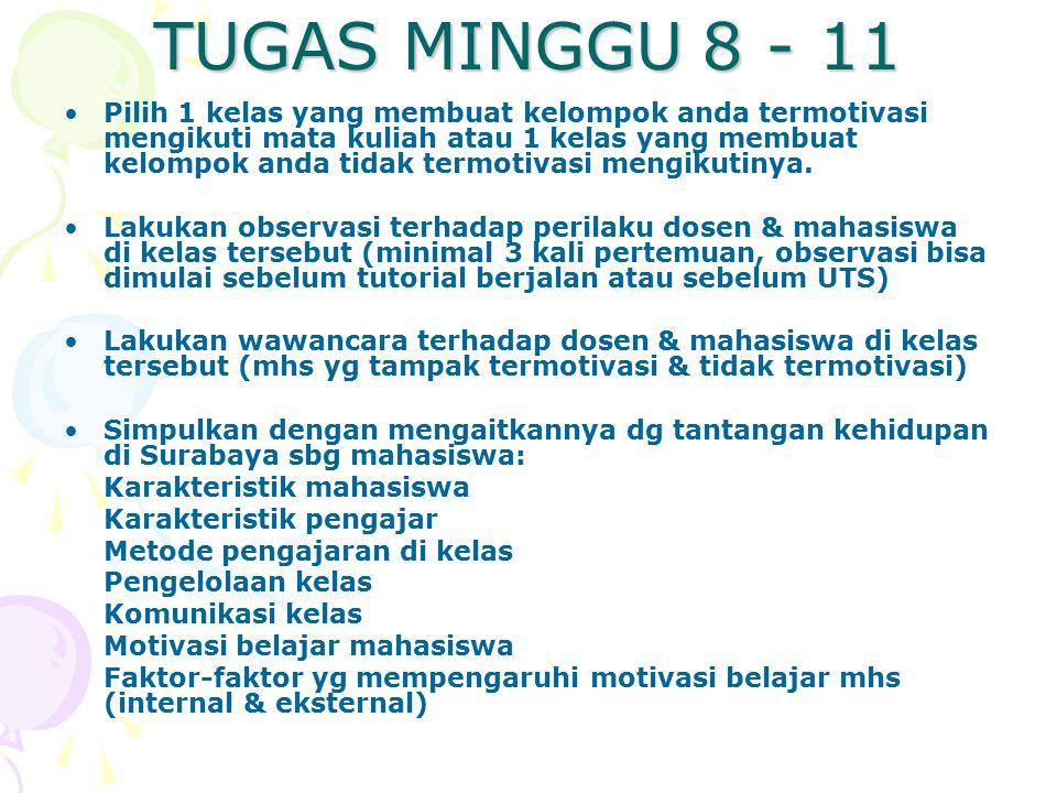 TUGAS MINGGU 8 - 11