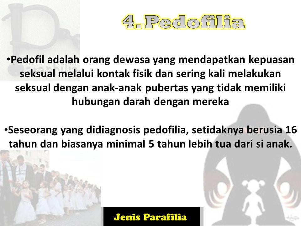 4. Pedofilia
