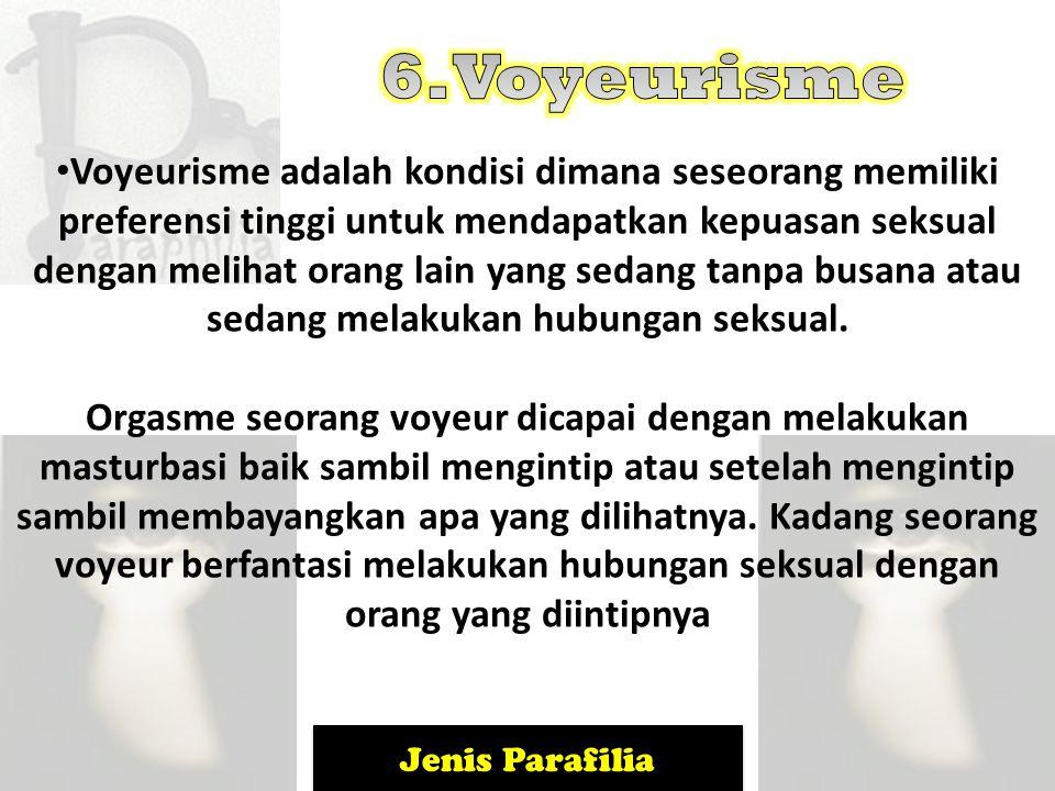 6. Voyeurisme