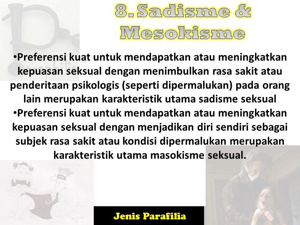 8. Sadisme & Mesokisme