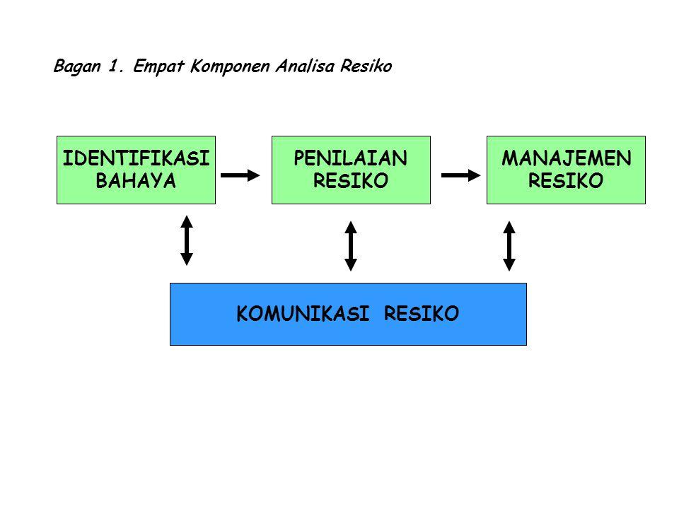 Bagan 1. Empat Komponen Analisa Resiko