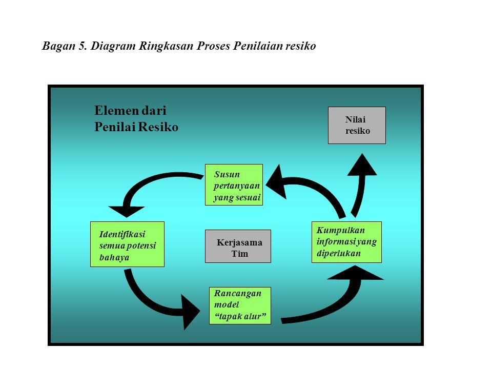 Bagan 5. Diagram Ringkasan Proses Penilaian resiko