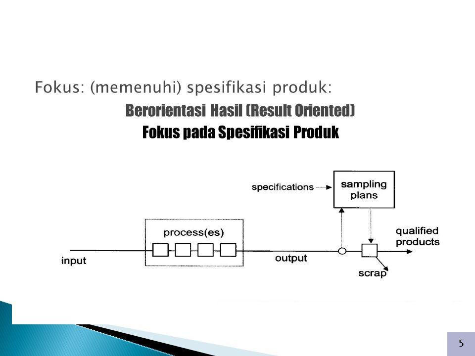 INSPEKSI (ACCEPTANCE SAMPLING)
