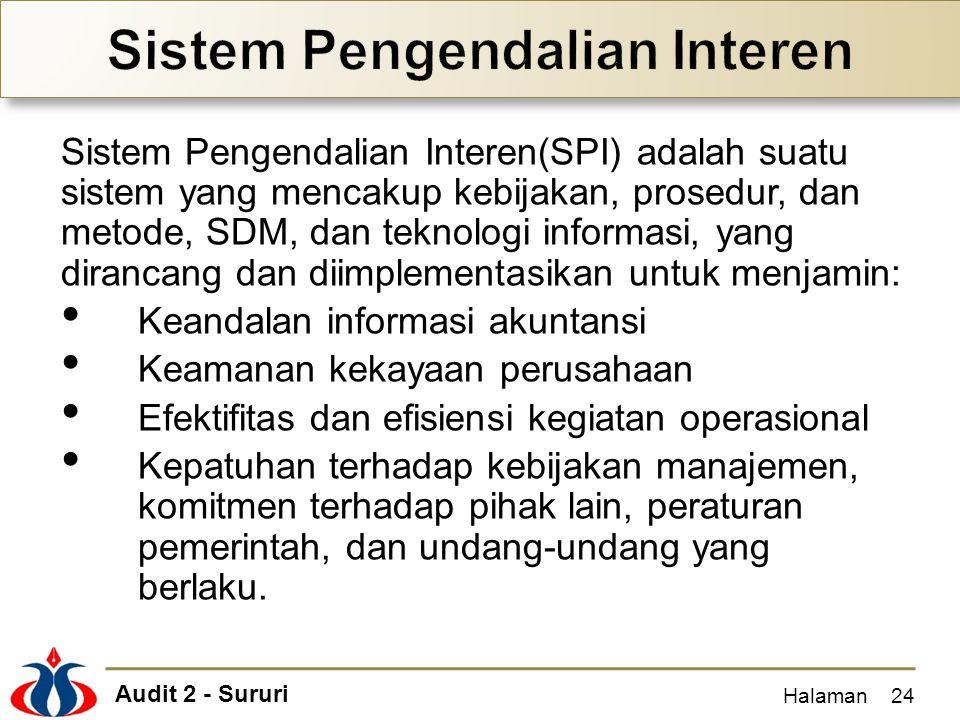 Sistem Pengendalian Interen