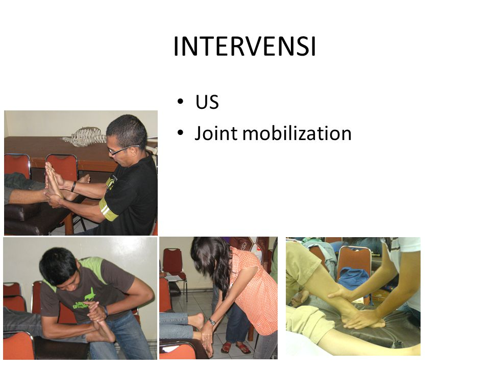 INTERVENSI US Joint mobilization