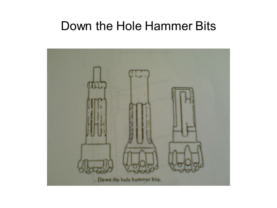 Down the Hole Hammer Bits