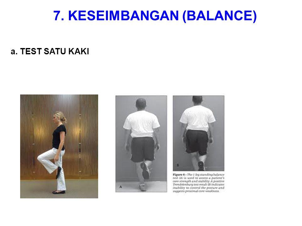 7. KESEIMBANGAN (BALANCE)