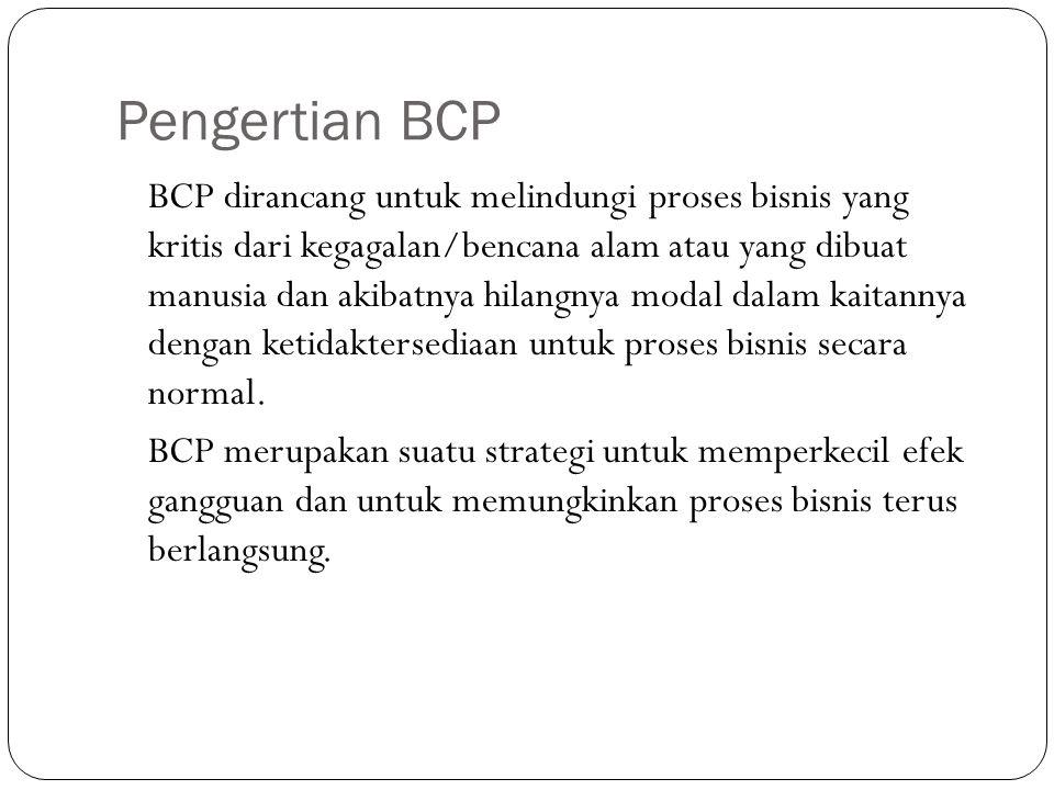 Pengertian BCP