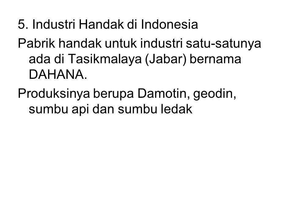5. Industri Handak di Indonesia