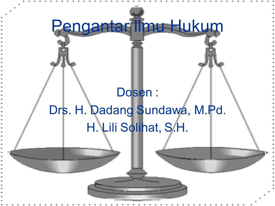 Drs. H. Dadang Sundawa, M.Pd.