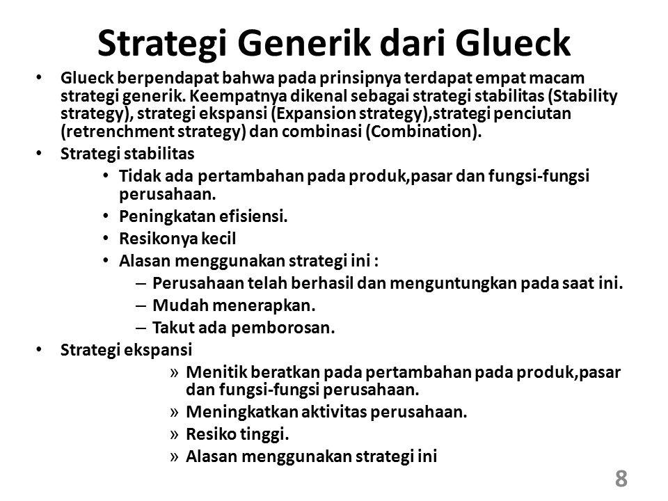 Strategi Generik dari Glueck