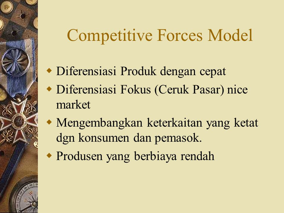 Competitive Forces Model