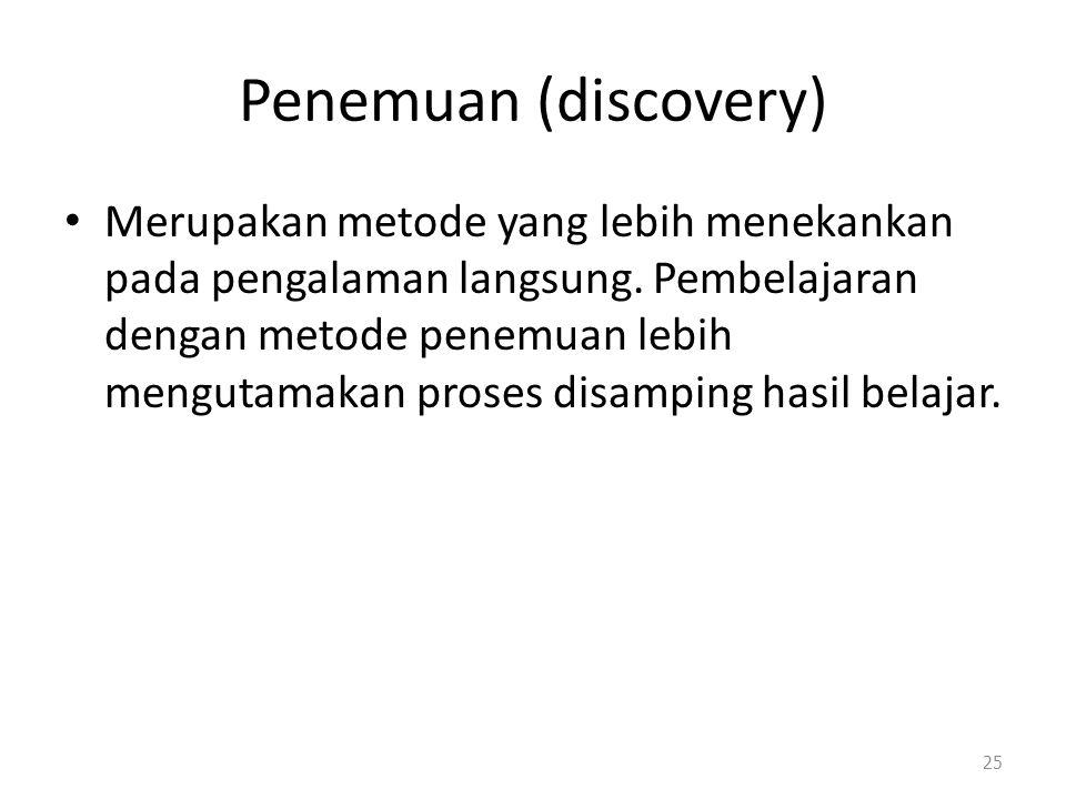 Penemuan (discovery)