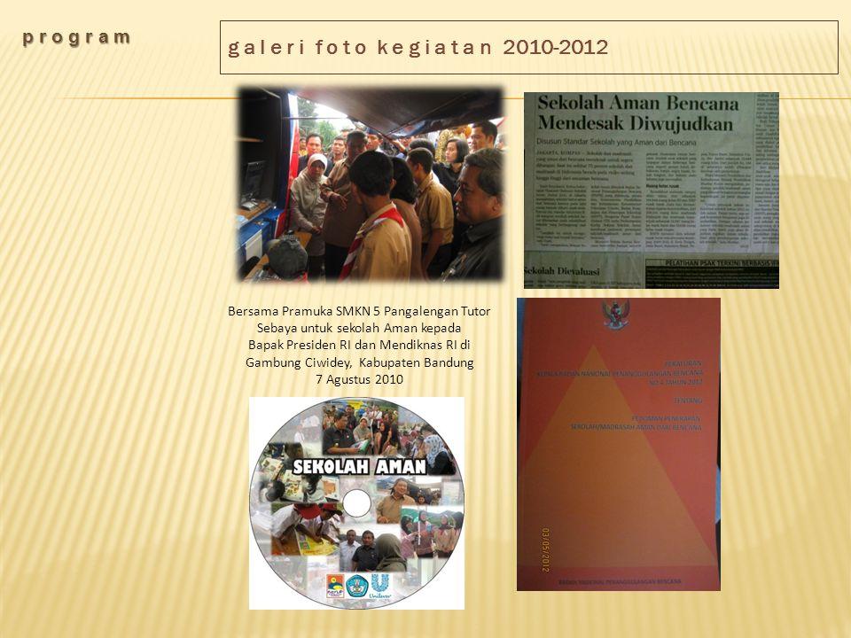 g a l e r i f o t o k e g i a t a n 2010-2012 p r o g r a m