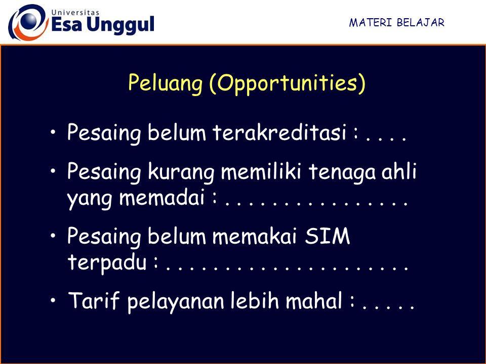 Peluang (Opportunities)