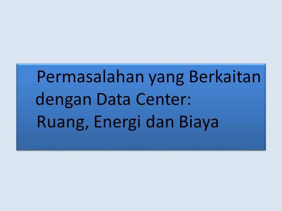 Permasalahan yang Berkaitan dengan Data Center: