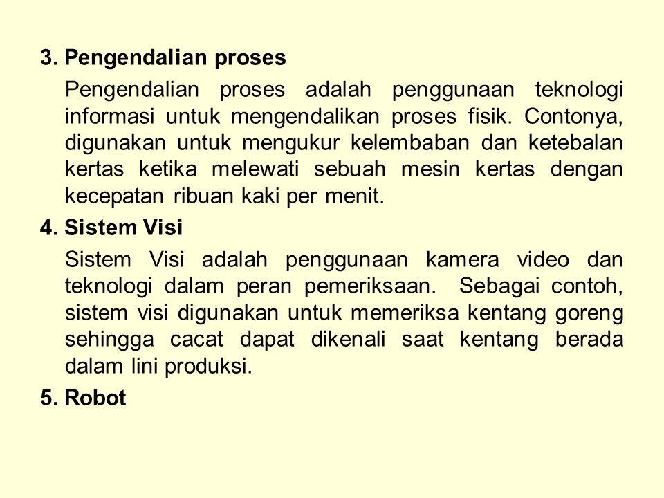 3. Pengendalian proses
