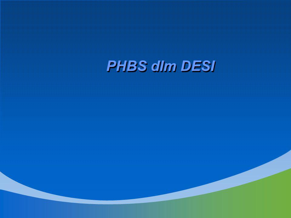 PHBS dlm DESI