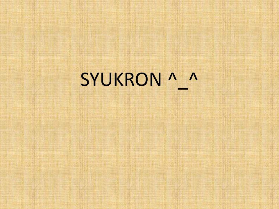 SYUKRON ^_^