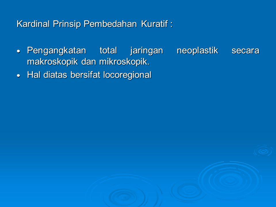Kardinal Prinsip Pembedahan Kuratif :