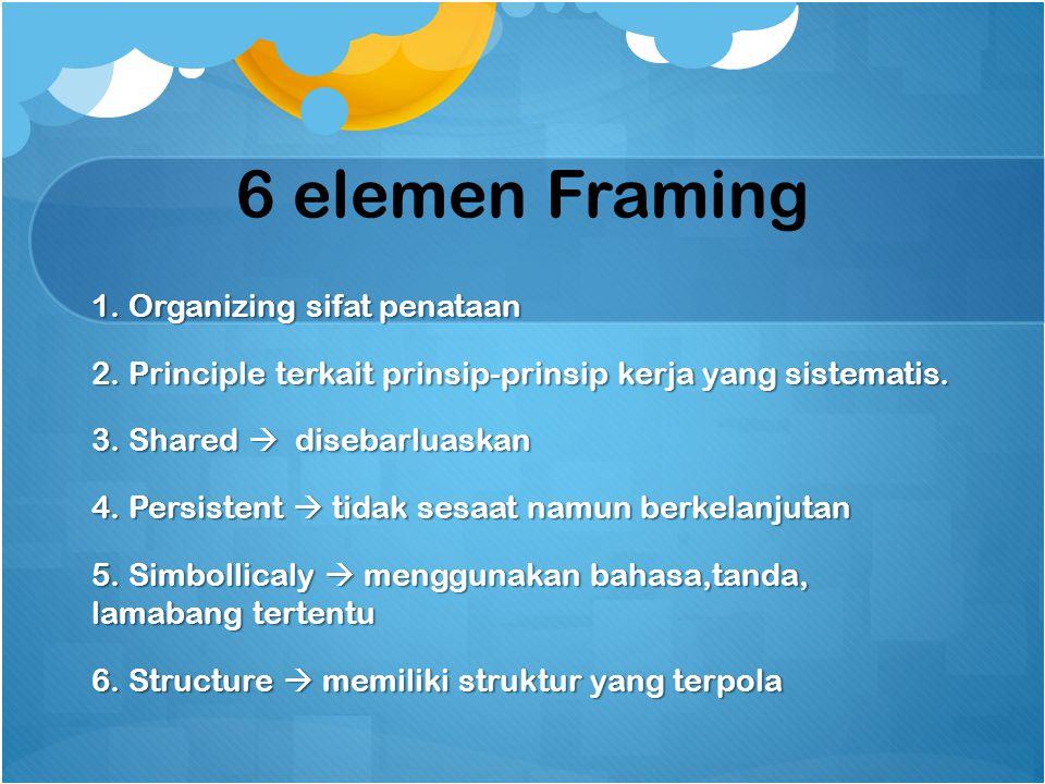 6 elemen Framing