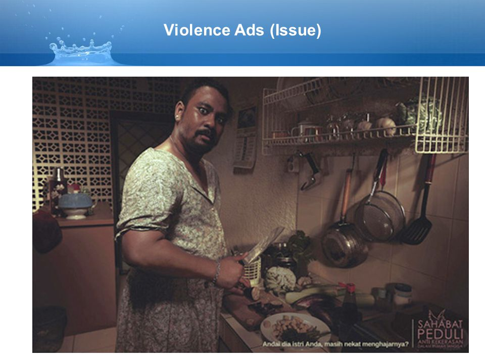 Violence Ads (Issue)