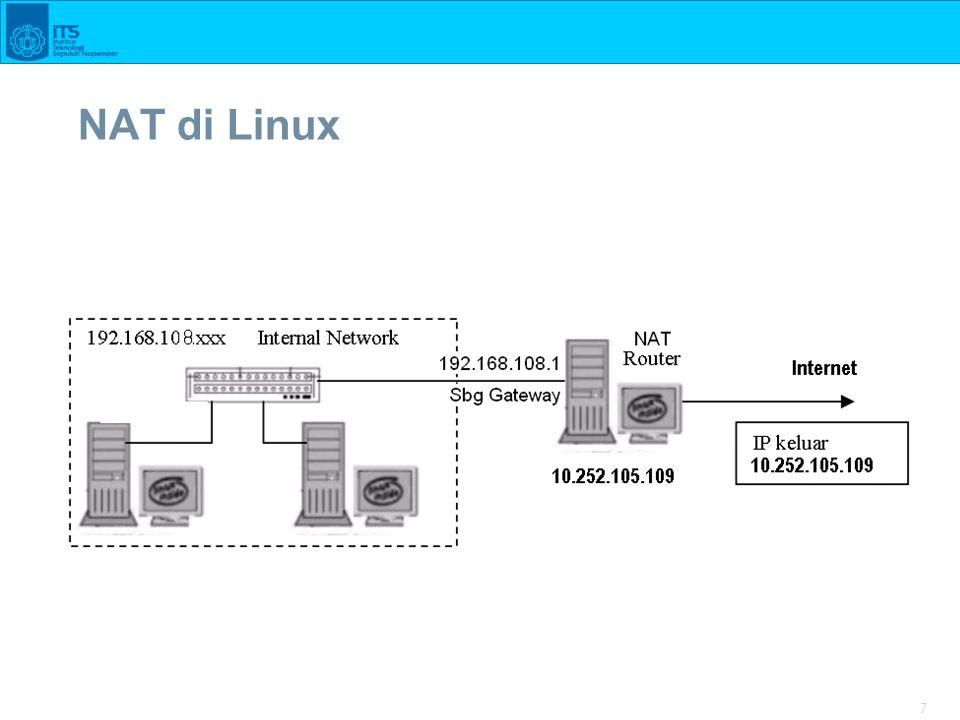 NAT di Linux