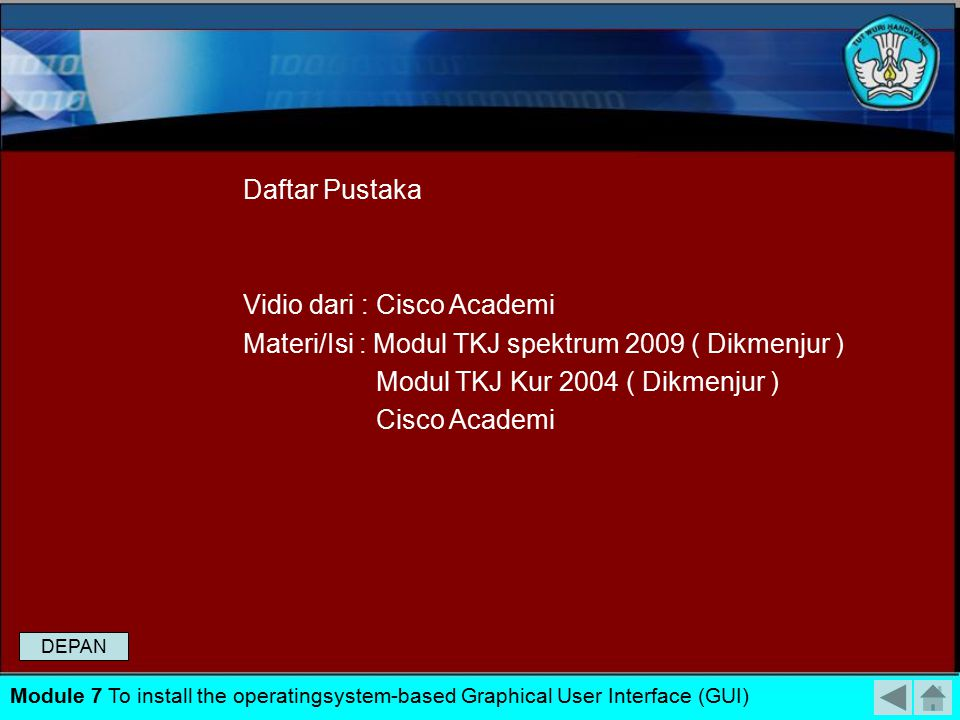 Vidio dari : Cisco Academi