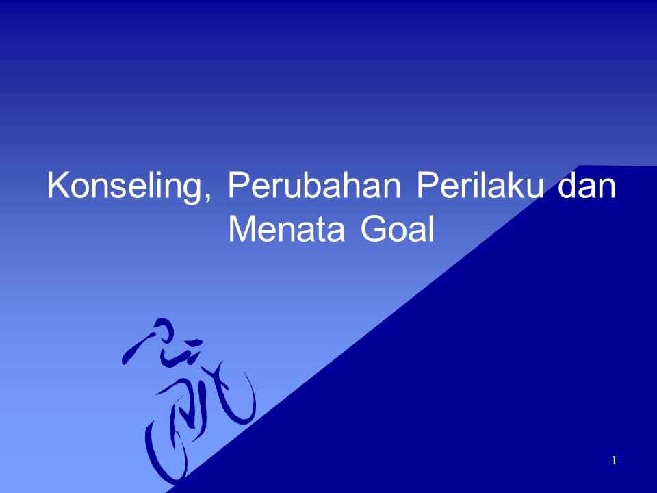 Konseling, Perubahan Perilaku dan Menata Goal