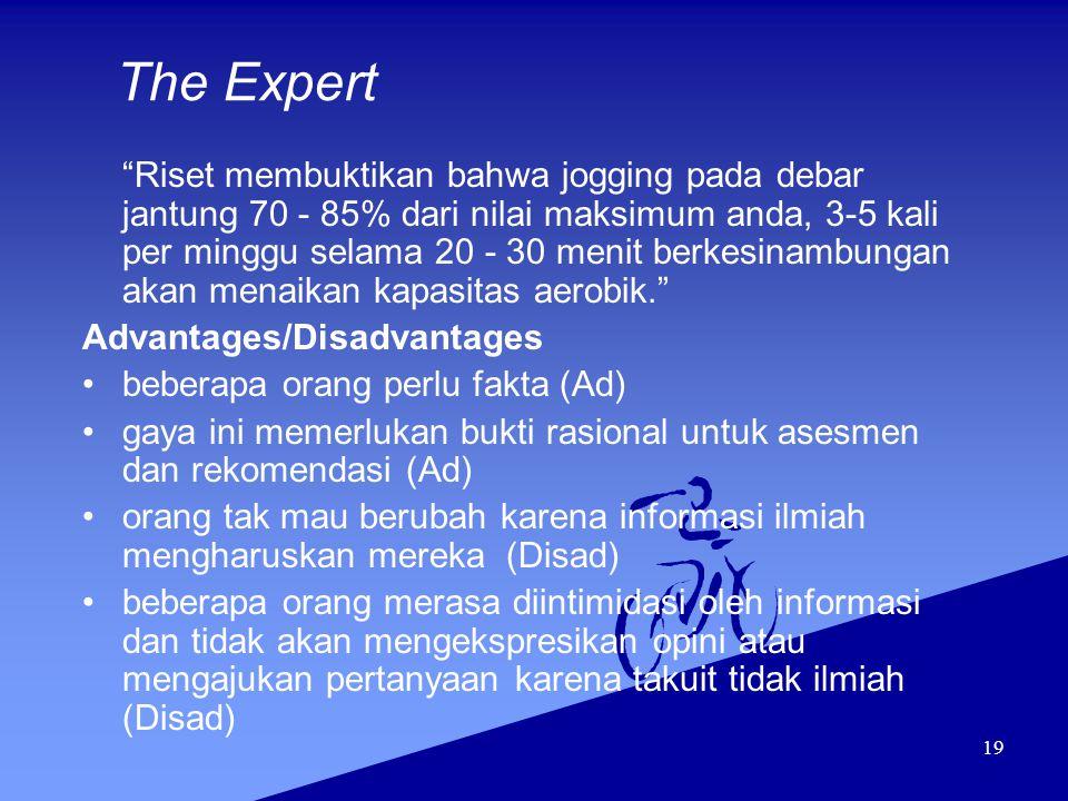 The Expert Advantages/Disadvantages beberapa orang perlu fakta (Ad)