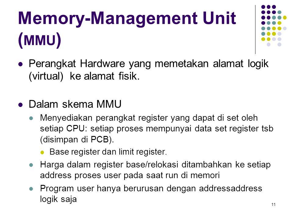 Memory-Management Unit (MMU)