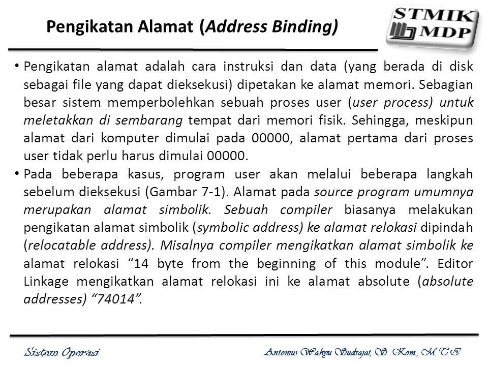 Pengikatan Alamat (Address Binding)