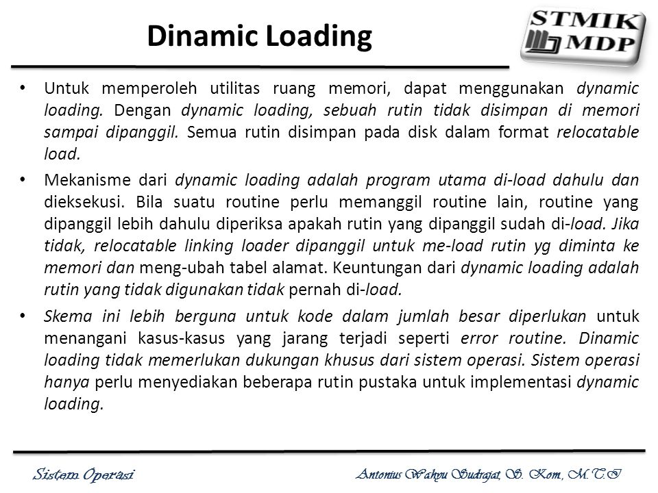 Dinamic Loading