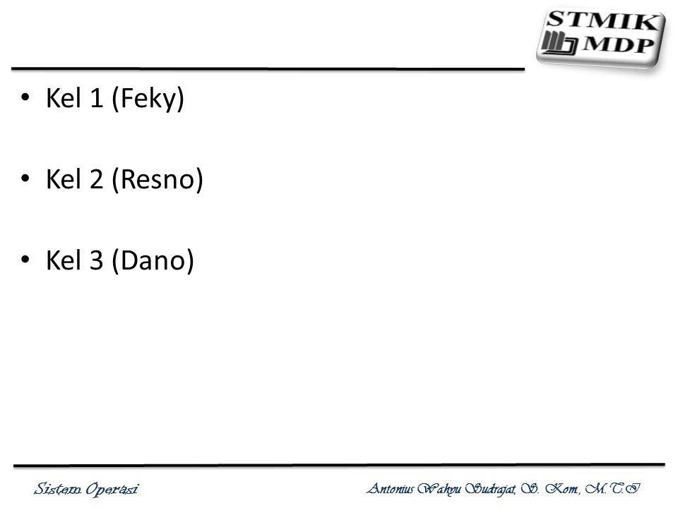 Kel 1 (Feky) Kel 2 (Resno) Kel 3 (Dano)