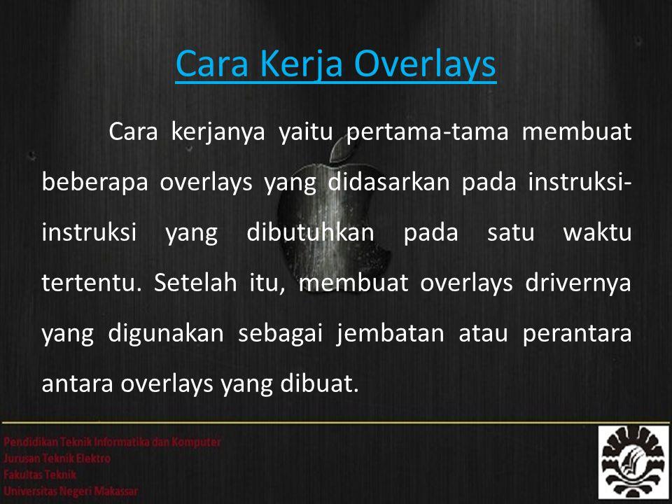 Cara Kerja Overlays