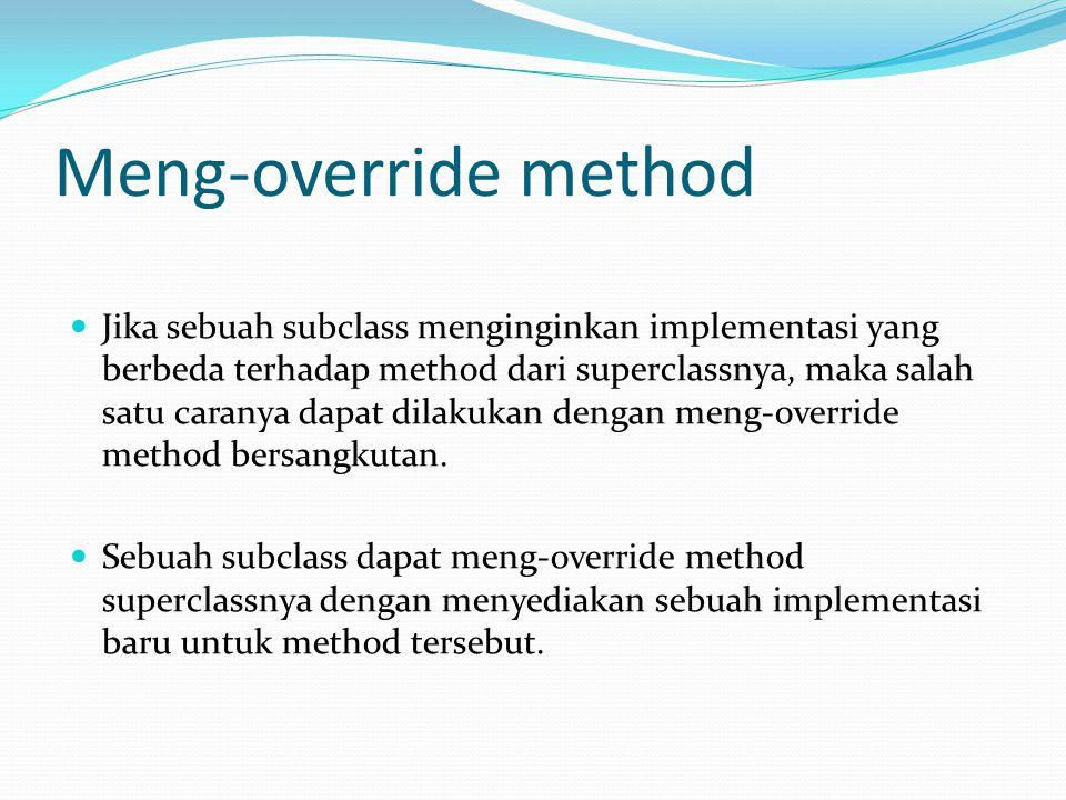 Meng-override method
